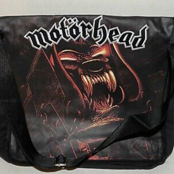 motorhead animal logo 2009 new messenger tote bag